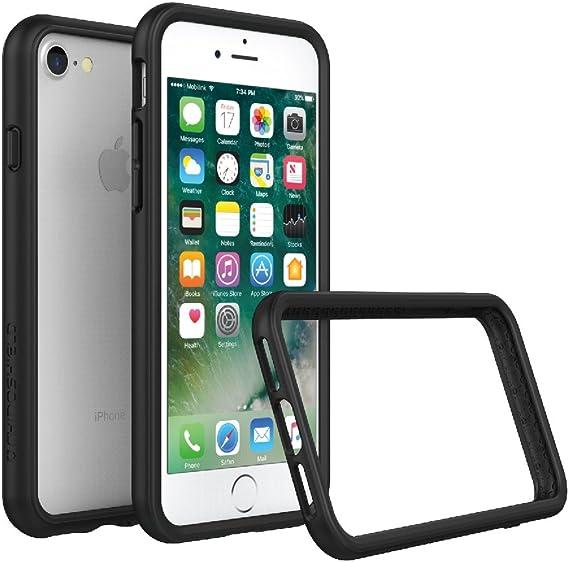RhinoShield Ultra Protective Bumper Case [iPhone SE2 / SE (2020) / 8/7] | CrashGuard - Military Grade Drop Protection Against Full Impact, Slim, ...