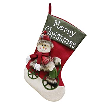 Formulaone Navidad Decoracion Caramelo Calcetines de Navidad Bolsa - Colorido