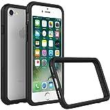 Rhino Shield iPhone 8/iPhone 7 Dünnes Bumper Case [Crashguard] Schock Absorbierende Schutzhülle mit minimalistischem Design [3,5 Meter Fallschutz] – Schwarz