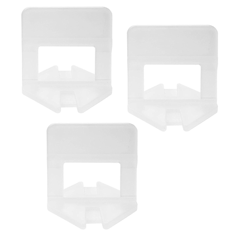 250 linguette per il livellamento delle piastrelle per il montaggio a pavimento o a parete codice articolo 6818 per una larghezza delle fughe di 3 mm Lantelme