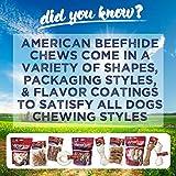 Pet Factory American Beefhide Chews 38347 Rawhide