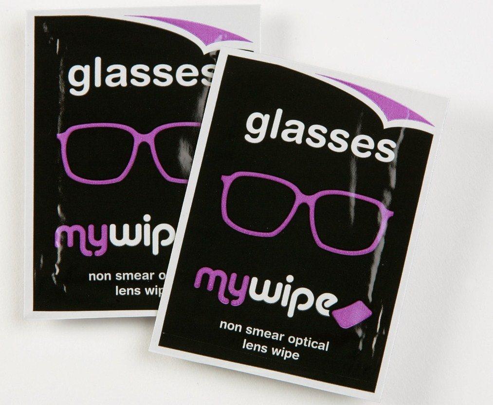 MYWIPE óptico lente y 3d gafas espectáculo gamuza de limpieza toallitas húmedas: Amazon.es: Electrónica