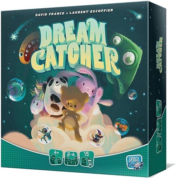 Juego de Mesa Dream Catcher - ¡Las pesadillas no Son Nada Divertidas! ¡Pero Tienes tu Peluche para Transformar Tus Malos sueños en Bonitos Cuentos!: Amazon.es: Juguetes y juegos