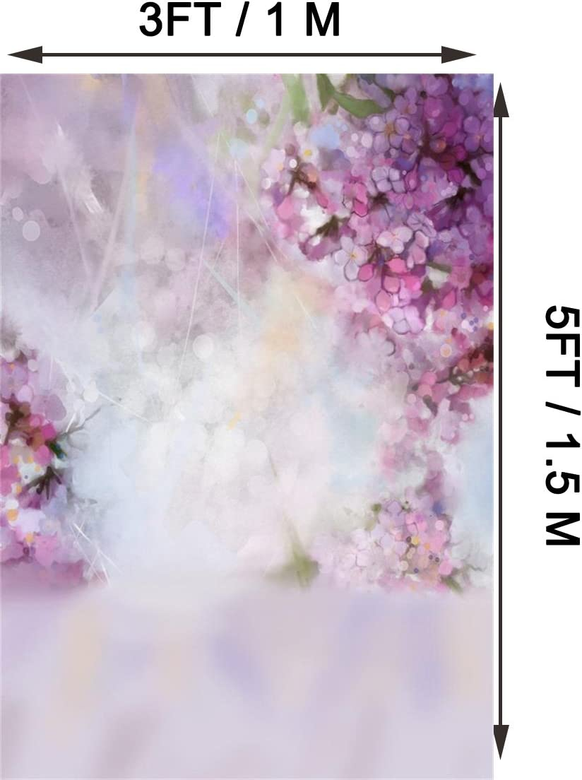 7x10 FT Traditional Vinyl Photography Background Backdrops,Blossom Spiral Petals Folk Victorian Vintage Colorful Foliage Background Newborn Baby Portrait Photo Studio Photobooth Props