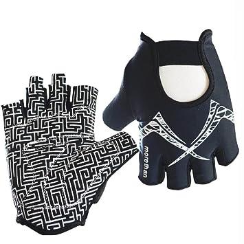 5. Guantes de fitness hasta la mitad de los dedos, guantes de deporte,