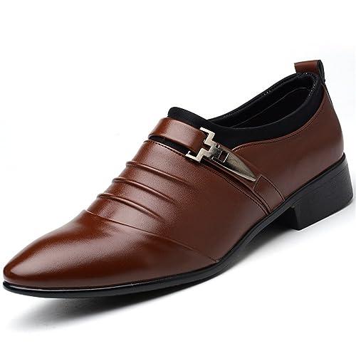 fbfa8fa1b8 XUE Zapatos de piel para hombre