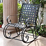 Iron Outdoor Patio Rocker