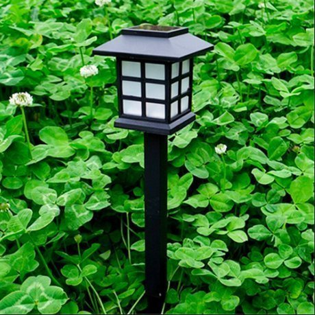 Solar Powered Lights (Set of 6)- Low Voltage LED Outdoor Steak Spotlight Fixture for Gardens, Pathways, and Patios by Pure Garden (Garden Light Sets)