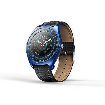 PINCHU V10 Reloj Inteligente Smartwatch Bluetooth Muñeca Digital Deporte Reloj Tarjeta SIM Teléfono con Cámara para