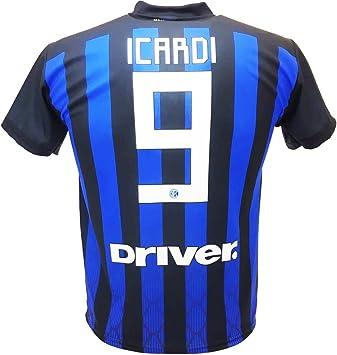 Camiseta de Fútbol Mauro ICARDI Maurito 9 Inter F.C. Primera ...