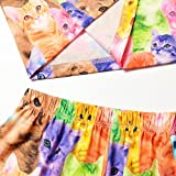 Pajamas Girls Sleepwear Kid Cat Print Cute Cotton