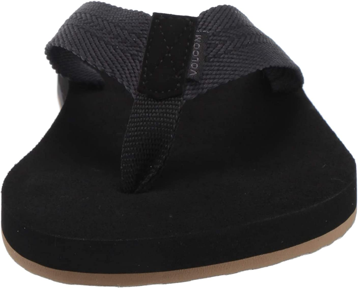 Volcom Mens Daycation Textile Flip Flop Sandal