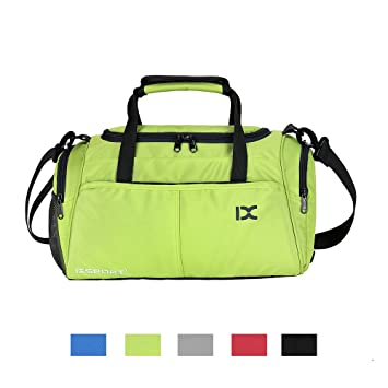 Chikencall Fitness Sport Gym Sports Bag Small Duffel Bag for Men and Women  with Shoes Compartment c639fbc0e4b33