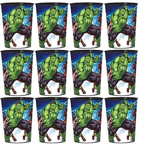 The Incredible Hulk Party Supplies - Epic Avengers Favor Cups Set of