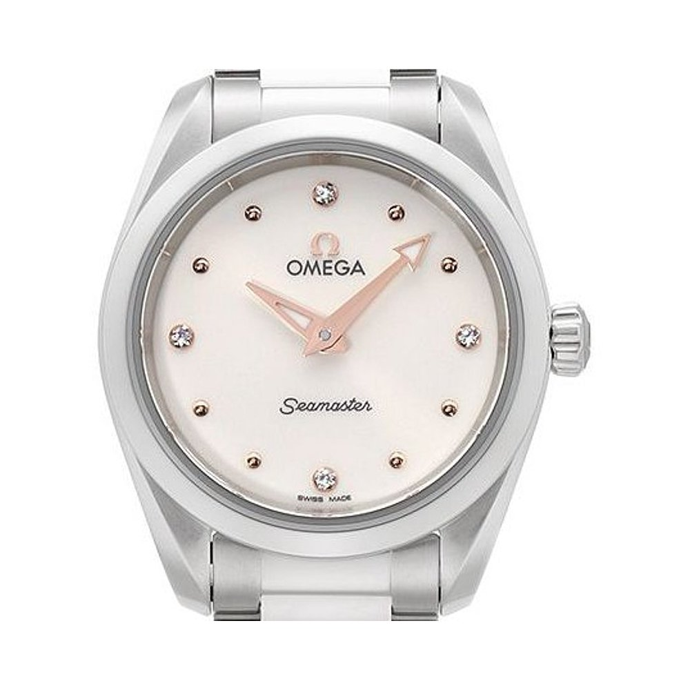 オメガSeamaster Aqua Terra Ladies Watch 220.10.28.60.54.001 B0779G62L5