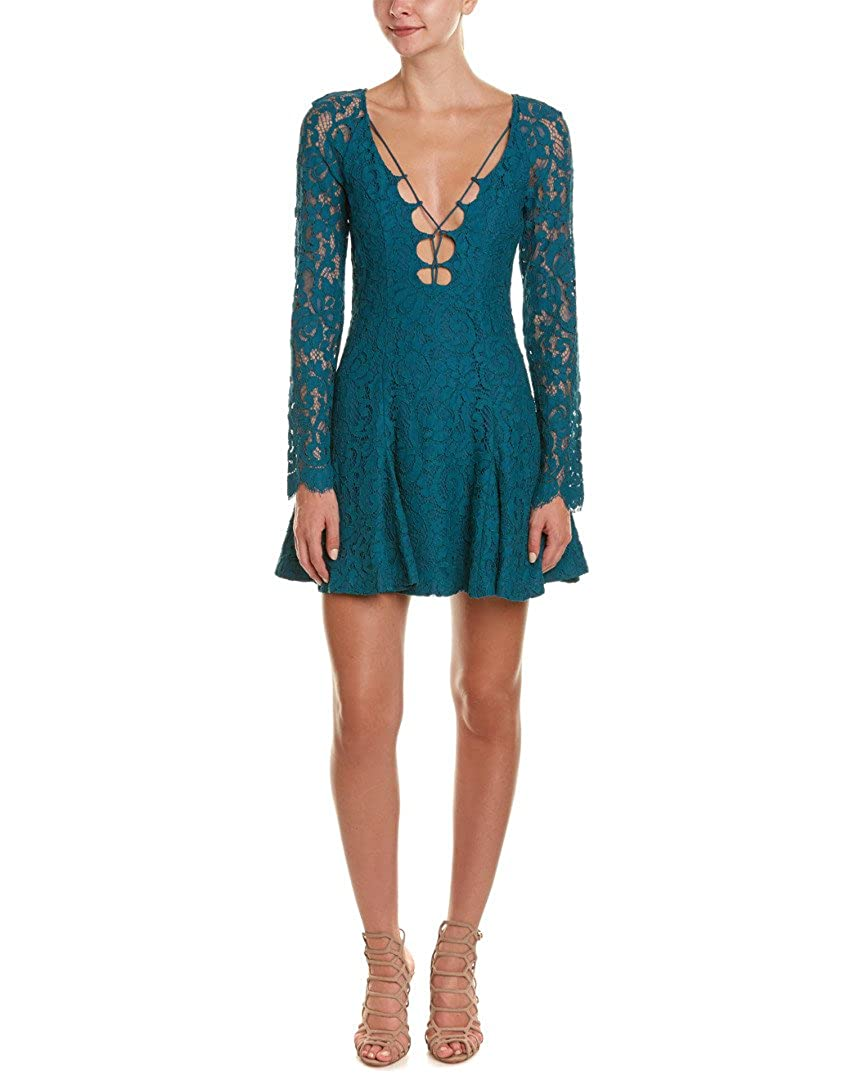 a5fb1a235ea40 Amazon.com: StyleStalker Women's Love Bomb Dress Teal Dress XS (US Women's  0-2): Clothing