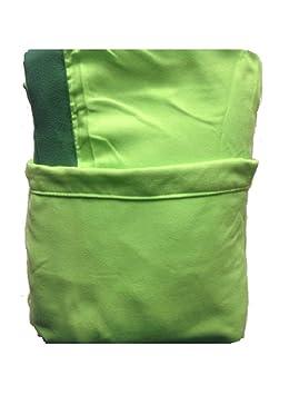 Toalla cubretumbona de playa con bolsillos y bolso de microfibra M: Amazon.es: Hogar