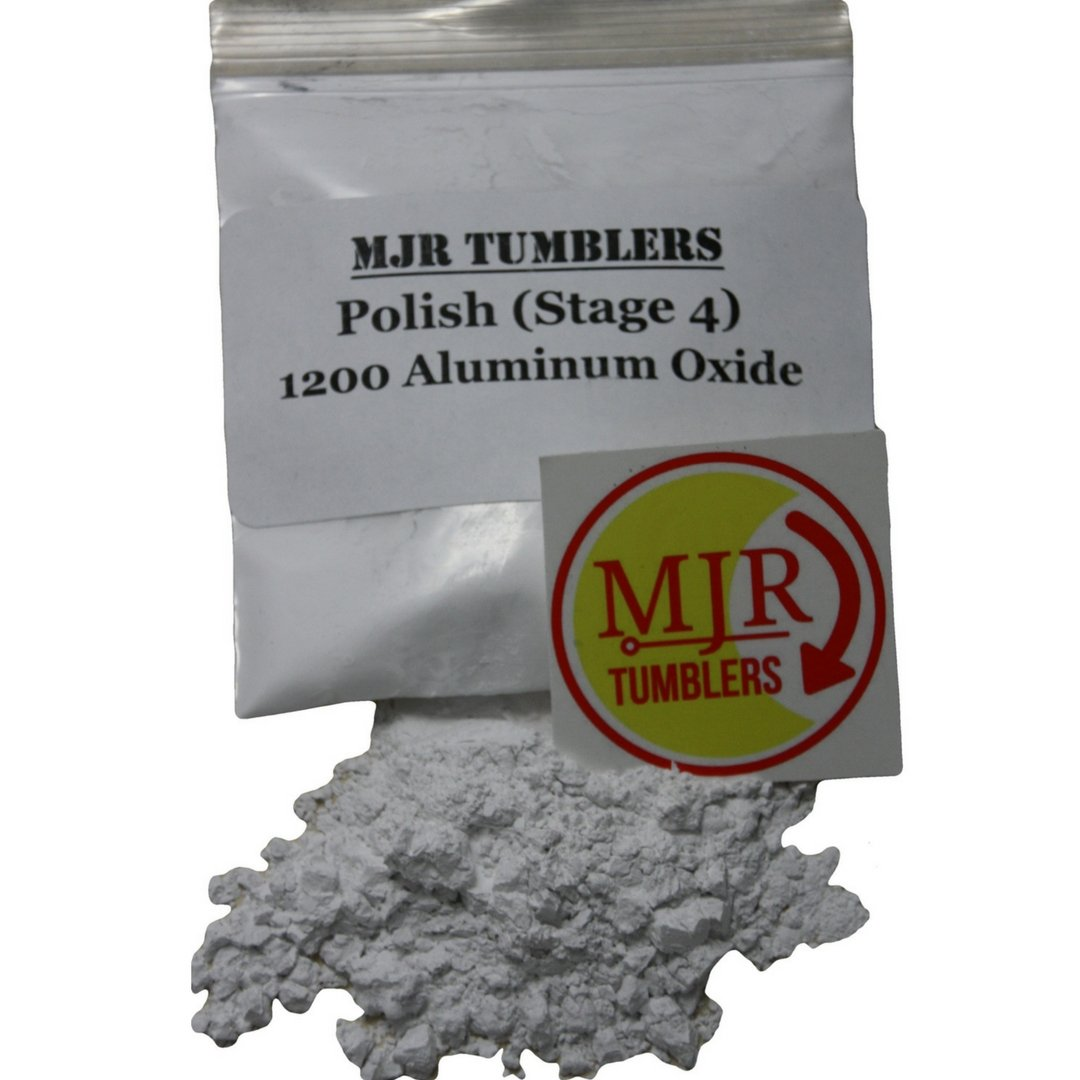 MJR Tumblers 5 lb Aluminum Oxide 1200 Rock Grit Polish by MJR Tumblers