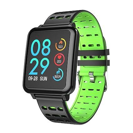 STRIR Smartwatch T2 con monitor de frecuencia cardíaca, reloj inteligente IP67 a prueba de agua, ...