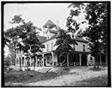 Photo: Omena Inn,hotels,resorts,buildings,inns,Michigan,Detroit Publishing Company,1890 offers