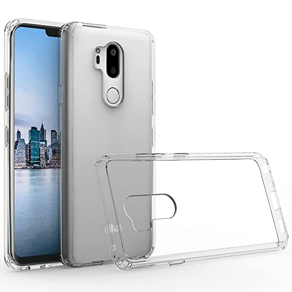 super popular c47a5 5b0f1 For LG G7 ThinQ Case - Transparent Shockproof Silicone TPU Case Skin Cover  Anti-Drop Soft TPU LG G7 ThinQ Full Coverage Clear Transparent Soft Slim ...