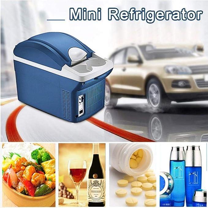 Szseven Frigorífico - 8L Mini Refrigerador Portátil Calentamiento ...