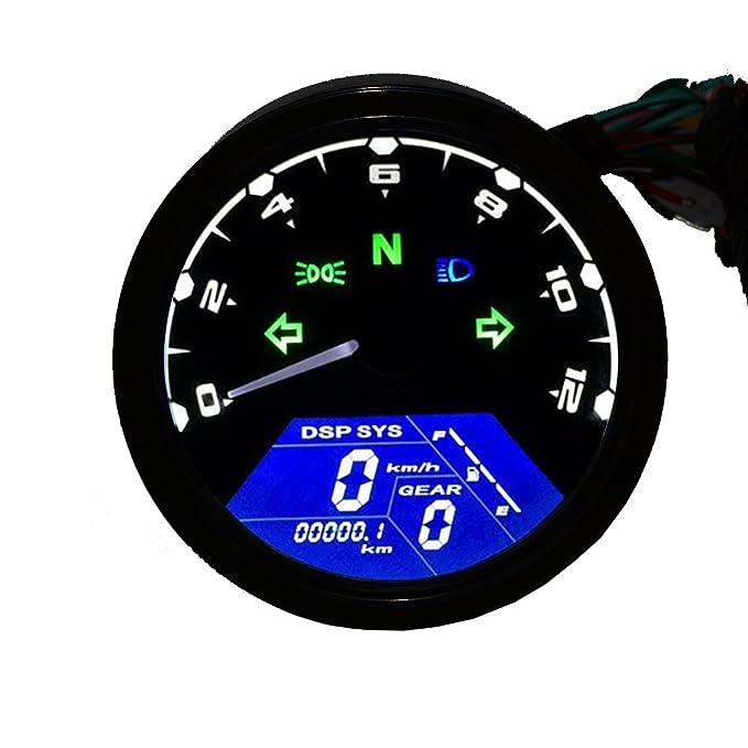 15 opinioni per TurnRaise Universale LCD Digitale Tachimetro Montaggio Contachilometri