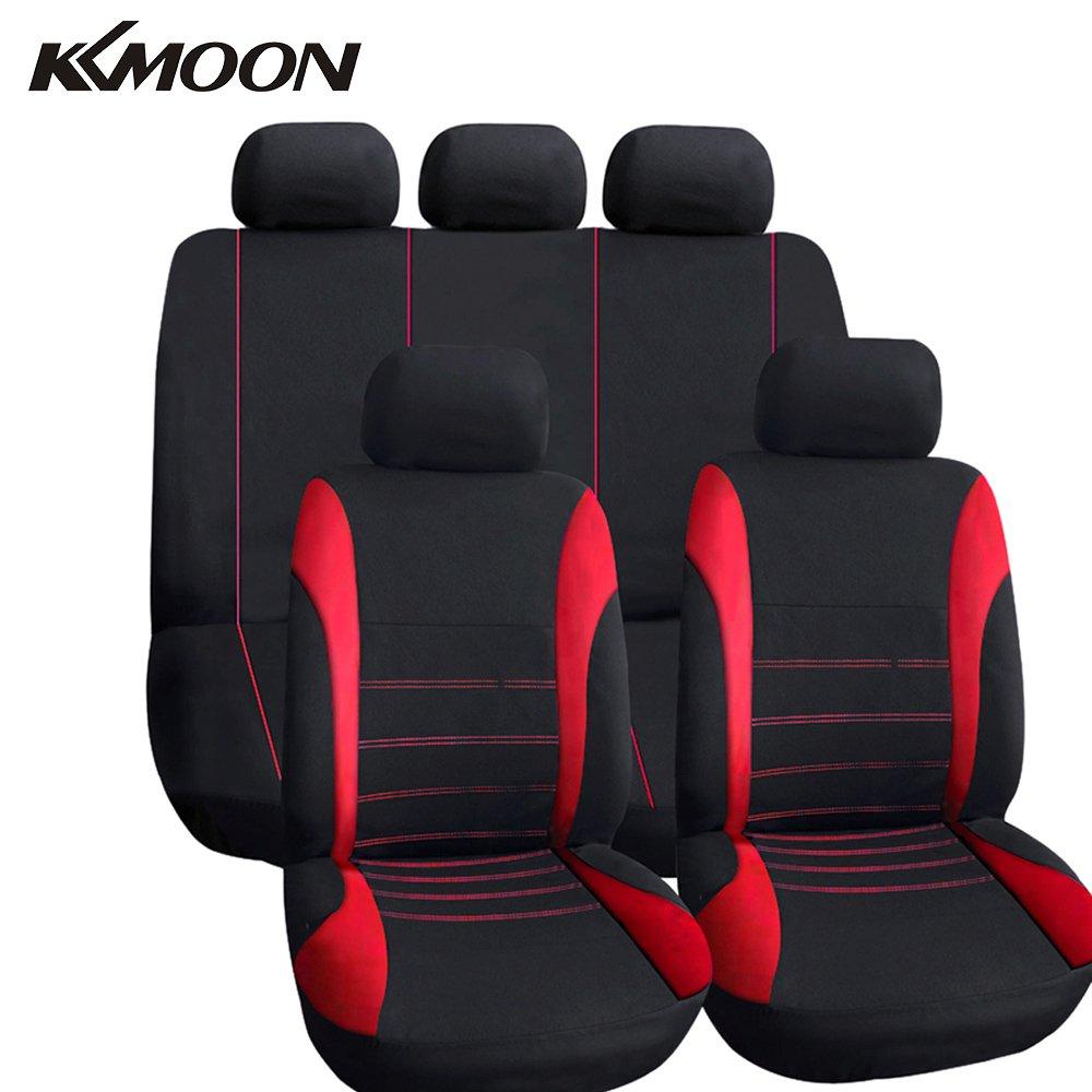 KKmoon Si/ège Auto Housse Auto Accessoires Int/érieurs Style Universel Voiture Gris