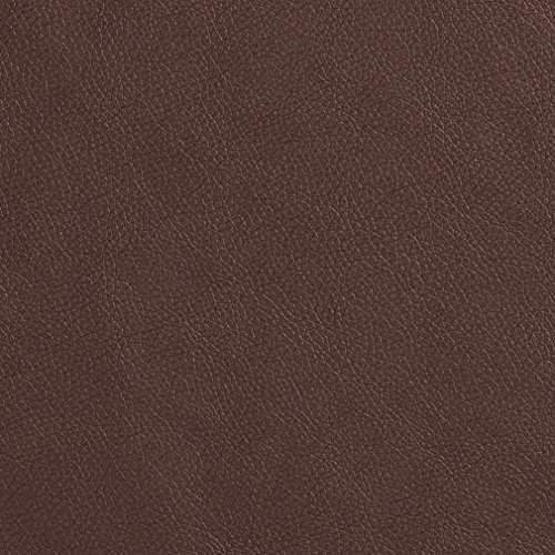 Briarwood Brown Fine Leather Grain Animal Hide Texture Vinyl Upholstery Fabric by the yard (Briarwood Sofa)