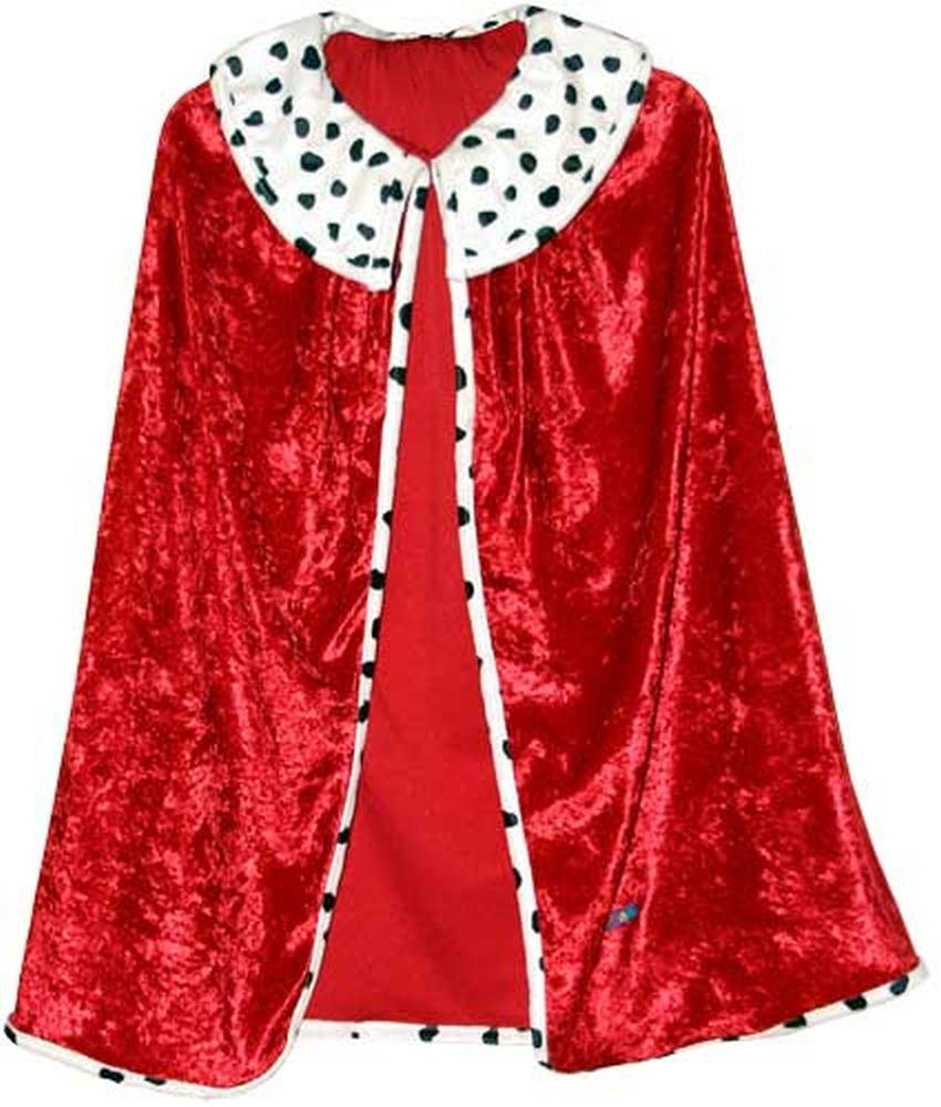 Trullala Königsumhang, Faschingsumhang, König-Kostüm, Kinderkostüm, Faschingskostüm, Größe: L (6-8 Jahre) Trullala Königsumhang König-Kostüm Kinderkostüm Faschingskostüm