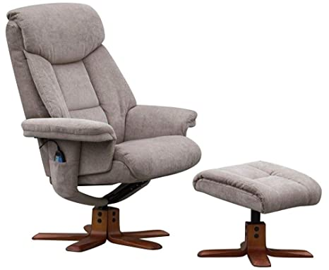 Peachy Morris Living Exmouth Fabric Swivel Recliner Massage Chair Creativecarmelina Interior Chair Design Creativecarmelinacom