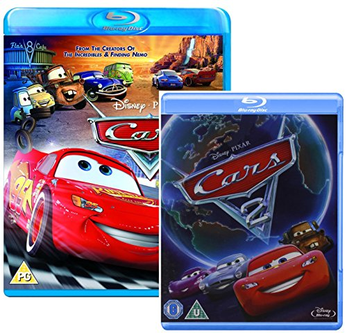 Cars I and Cars II - Two Movie Bundling Blu-ray