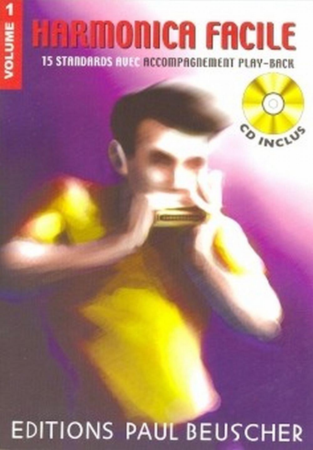 Harmonica Facile Vol.1 + CD - Harmonica Paul Beuscher A 3137990012311 Enseignement primaire