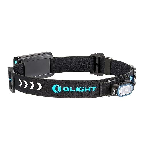 2 opinioni per Olight HS2 Lampada frontale compatta, 4 modalità regolabili Leggera Indicatori