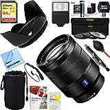 Sony Vario-Tessar T FE 24-70mm F4 ZA OSS Full Frame A-Mount Lens (SEL2470Z) + 64GB Ultimate Filter & Flash Photography Bundle