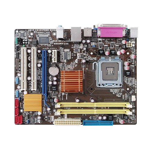 - Asus P5QPL-AM Socket 775 mATX Intel Bare Motherboard