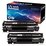 Uniwork 78A (2 Black) Compatible Toner Cartridge Replacement for HP 78A CE278A use for HP LaserJet Pro P1606dn M1536dnf P1566 P1560 P1606 M1536 Printer Ink