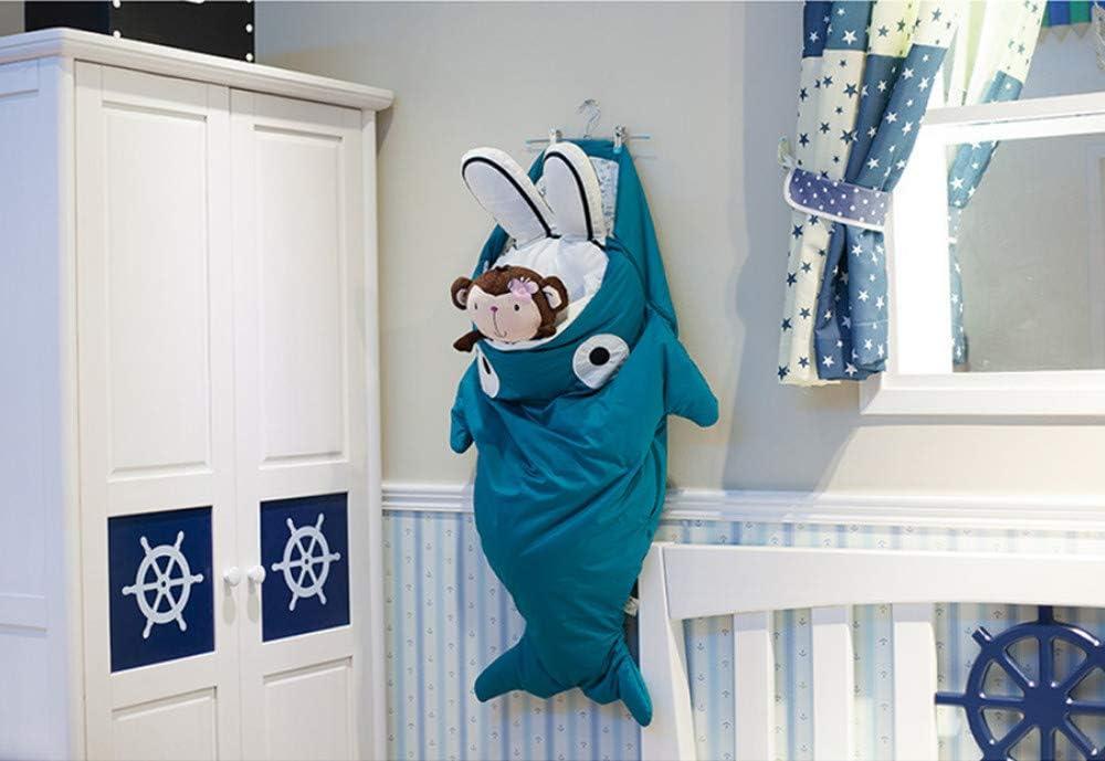 0-12 Months LOVCRY Sac de Couchage en Coton pour b/éb/é Motif Requin Coton Rose