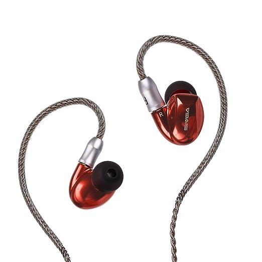 SIVGA Metal In Ear Headphones with Dual Drivers: Amazon in