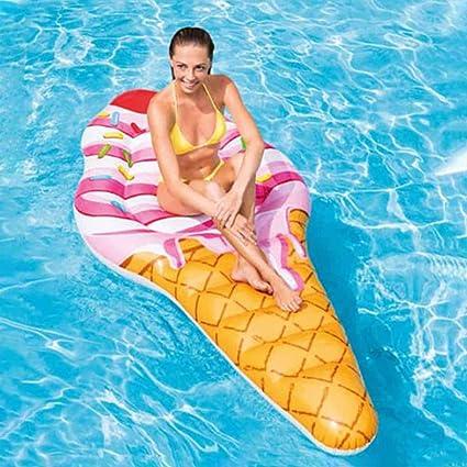 Gaddrt Fila Flotador hinchable de agua, tumbona, piscina, fruta ...
