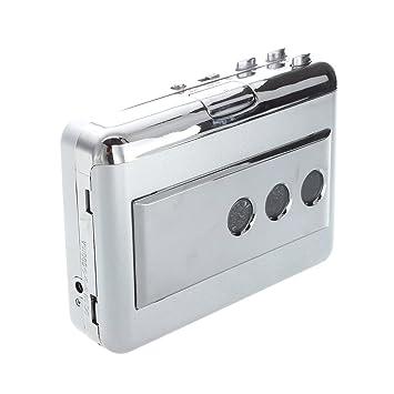 TOOGOO(R)Portatil LP Vinilo Cinta para PC Dual Hibrido USB Casete-to-MP3 Convertidor Captura con USB 2.0 Todo-en-uno lector de tarjetas: Amazon.es: ...