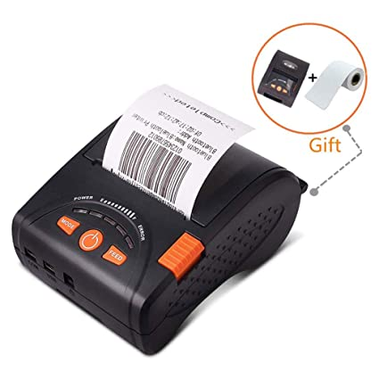 Thermal printer Impresora térmica portátil Bluetooth portátil de ...