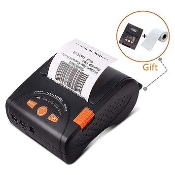 Thermal printer Impresora térmica portátil Bluetooth ...