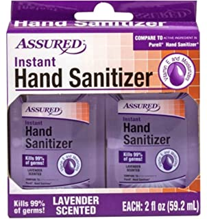 Amazon Com Assured Hand Sanitizer With Aloe 8 Oz Bottles Beauty
