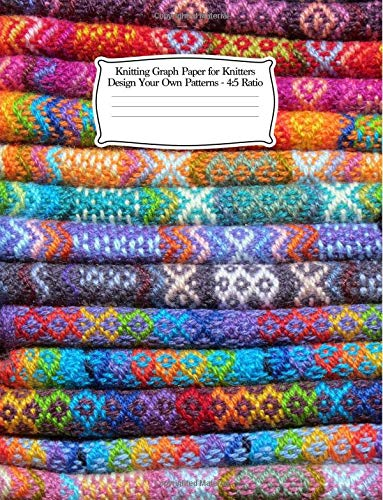 Knitting Graph Paper For Knitters Design Your Own Patterns 2 3