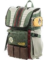 Star Wars Boba Fett Mandalorian Logo Bouty Hunter Laptop Backpack Bag