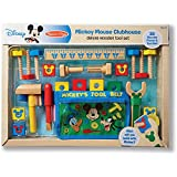 Melissa & Doug Disney Mickey Mouse Deluxe Wooden Tool Set