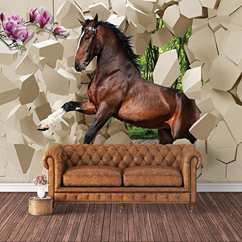 Fototapeten Tapeten Wandtapeten 3D Rosa Modern New Rosen Kn-1013