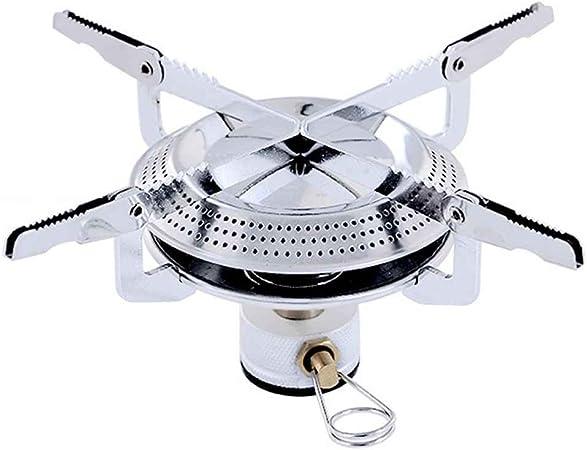 Lorsoul Tipo de disco de horno de gas estufa de camping portable de la pesca de cocción del quemador