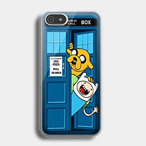 Adventure Time Jake Finn In Dr Who Tard for iPhone case (iPhone 6 plus white)